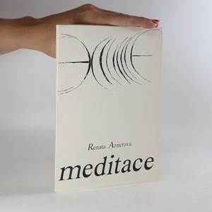 náhled knihy - Meditace (věnování autorky)