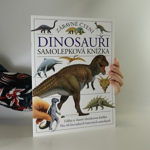 náhled knihy - Dinosauři. Samolepková knížka