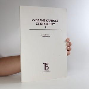 náhled knihy - Vybrané kapitoly ze statistiky I.