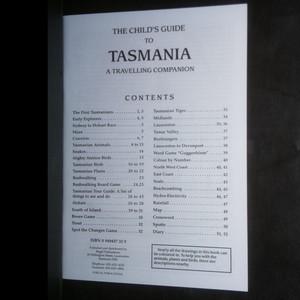 antikvární kniha The Children's Fun Guide To Tasmania, neuveden