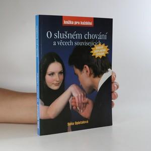 náhled knihy - O slušném chování a věcech souvisejících
