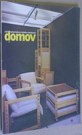 náhled knihy - Domov; Bytová kultura a technika domácnosti č. 6