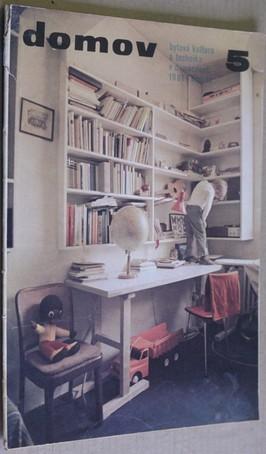 náhled knihy - Domov; Bytová kultura a technika domácnosti č. 5
