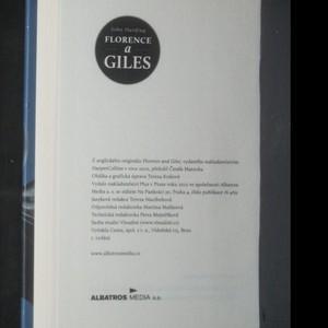 antikvární kniha Florence a Giles, 2012