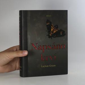 náhled knihy - Napsáno krví