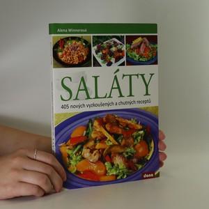 náhled knihy - Saláty. 405 nových vyzkoušených a chutných receptů