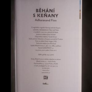 antikvární kniha Běhání s Keňany. Cesta za tajemstvím nejrychlejších lidí planety, 2012