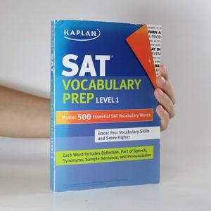náhled knihy - SAT Vocabulary prep