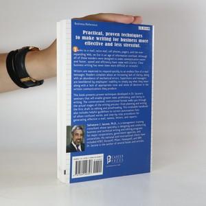 antikvární kniha Write to the point , 2003