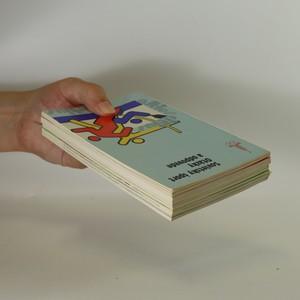 antikvární kniha 4x brožurky o moskevské olympiádě 1980 (viz foto), 1979, 1980