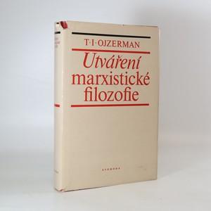 náhled knihy - Utváření marxistické filosofie