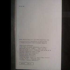antikvární kniha Cytologická detekce karcinomu a prekanceros děložního hrdla, 1969