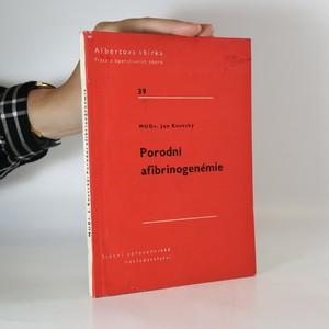 náhled knihy - Porodní afibrinogenémie