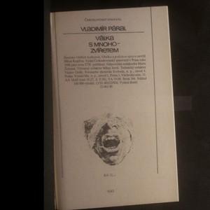 antikvární kniha Válka s mnoho-zvířetem, 1988