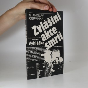 náhled knihy - Zvláštní akce smrti. Kapitoly z boje studentů proti fašismu.