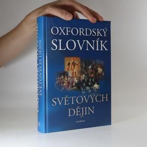 náhled knihy - Oxfordský slovník světových dějin