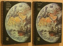 náhled knihy - Země světa. Díl 1, Evropa, SSSR, Asie + Země světa. Díl 2 Afrika, Amerika, Oceánie