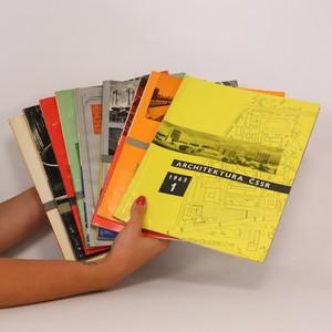 náhled knihy - Architektura ČSSR. Kompletní ročník XXII. Čísla 1-10. (9 sešitů)