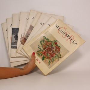 náhled knihy - Architektura ČSSR. Kompletní ročník XV. Čísla 1-10. (9 sešitů)