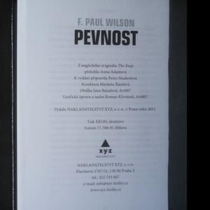 antikvární kniha Pevnost, 2011