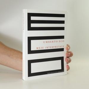 náhled knihy - Meze interpretace