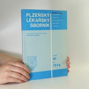 náhled knihy - Plzeňský lékařský sborník. Svazek 41