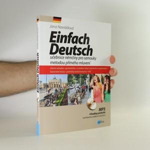 náhled knihy - Einfach Deutsch. Učebnice němčiny pro samouky metodou přímého mluvení (příloha CD)