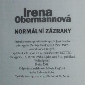 antikvární kniha Normální zázraky, 2008