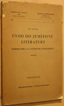 náhled knihy - Úvod do zeměpisné literatury : Introduction à la littérature géographique
