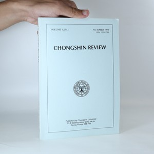 náhled knihy - Chongshin Review. Volume 1. No. 1. October 1996.