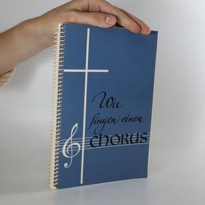 náhled knihy - Wir singen einen Chorus