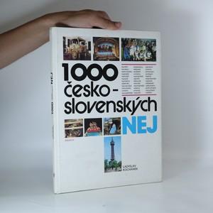 náhled knihy - 1000 československých nej.