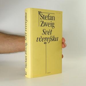náhled knihy - Svět včerejška