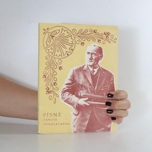 náhled knihy - Písně Fanoše Mikuleckého - věneček z rozmarýnu