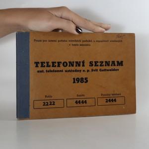 náhled knihy - Telefonní seznam aut. telefonní ústředny o. p. Svit Gottwaldov