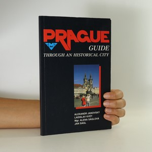 náhled knihy - Prague guide through an historical city