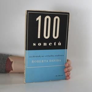 náhled knihy - 100 sonetů zachránkyni věčného studenta Roberta Davida