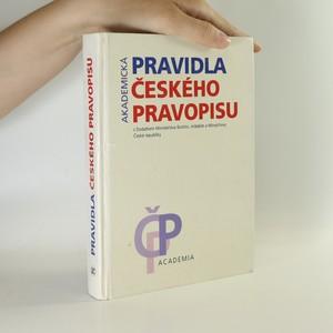 náhled knihy - Pravidla českého pravopisu s Dodatkem Ministerstva školství, mládeže a tělovýchovy České republiky