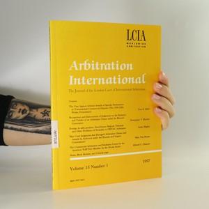 náhled knihy - Arbitration International