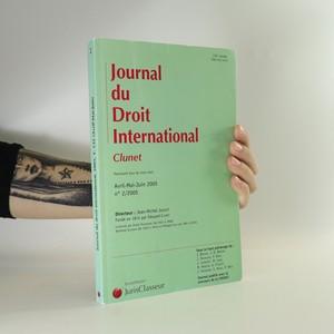 náhled knihy - Journal du Droit International