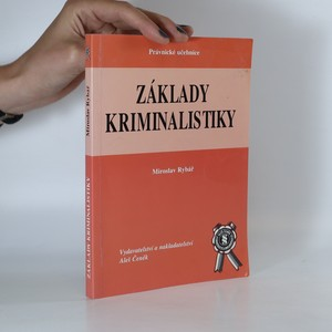 náhled knihy - Základy kriminalistiky