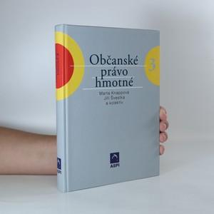 náhled knihy - Občanské právo hmotné 3