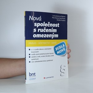 náhled knihy - Nová společnost s ručením omezeným
