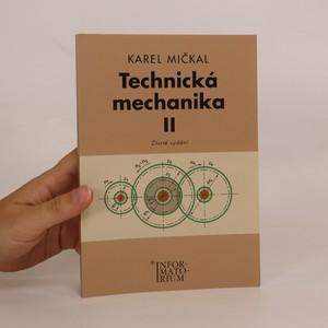 náhled knihy - Technická mechanika II