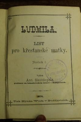 náhled knihy - Ludmila : list pro křesťanské matky
