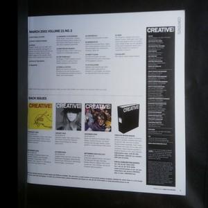 antikvární kniha Creative Review 21.3, 2001