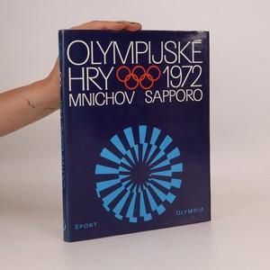 náhled knihy - Olympijské hry 1972. Mnichov. Sapporo