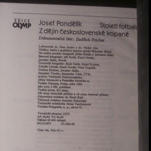 antikvární kniha Století fotbalu. Z dějin československé kopané, 1986