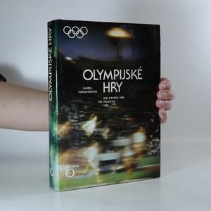 náhled knihy - Olympijské hry. Od Athén 1896 po Moskvu 1980