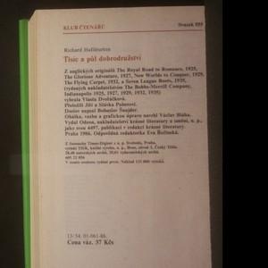 antikvární kniha Tisíc a půl dobrodružství, 1986